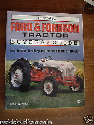 FORD, FORDSON, FORD-FERGUSON TRACTOR BUYER'S GUIDE, 1994 BOOK (1949 FORD 8N CVR
