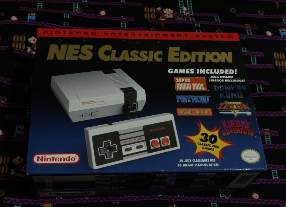 Nintendo Entertainment System NES Classic Edition Mini Console - NEW - IN HAND