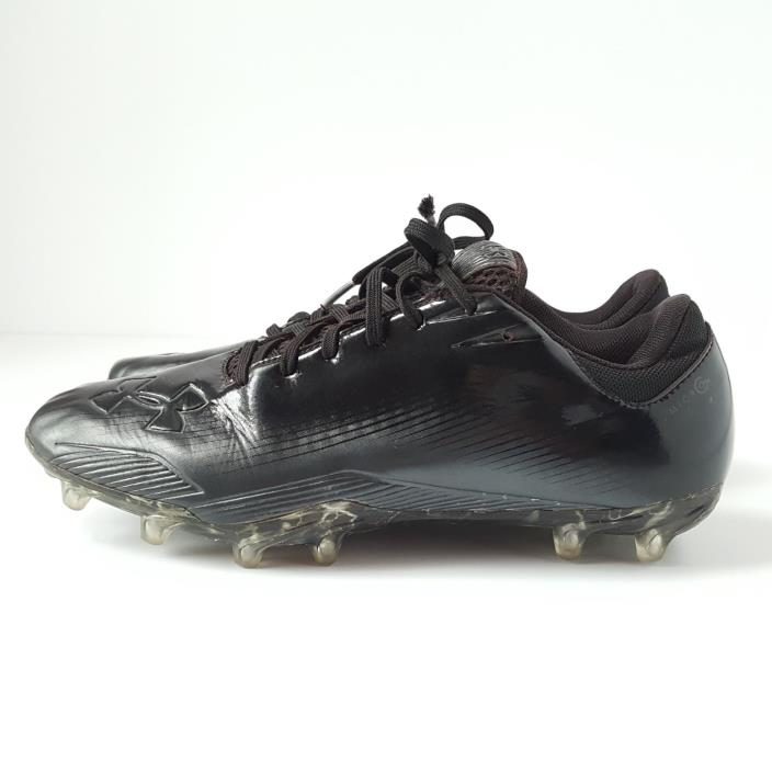 Mens Under Armour Micro Football Cleats - Size 9 - 1215750 - Black