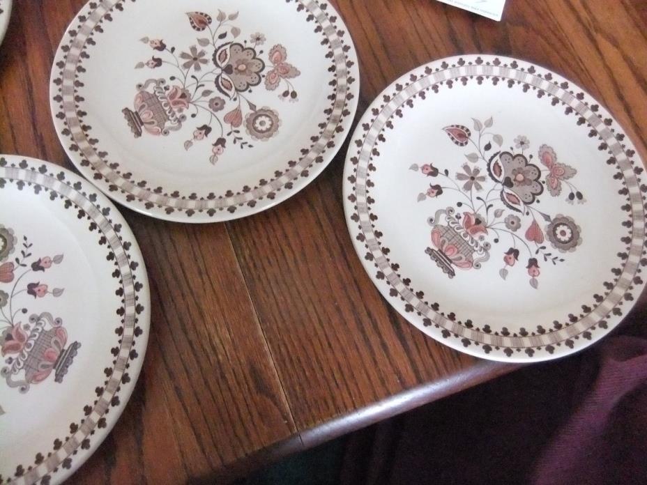 JOHNSON BROS STAFFORDSHIRE OLD GRANITE JAMESTOWN ENGLAND Lot 7 Dinner Plates