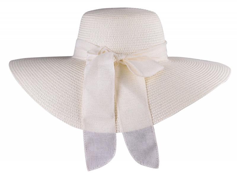 Women Sun Hat Large Brim Fashion Summer Floppy Beach Caps Foldable Straw Hats