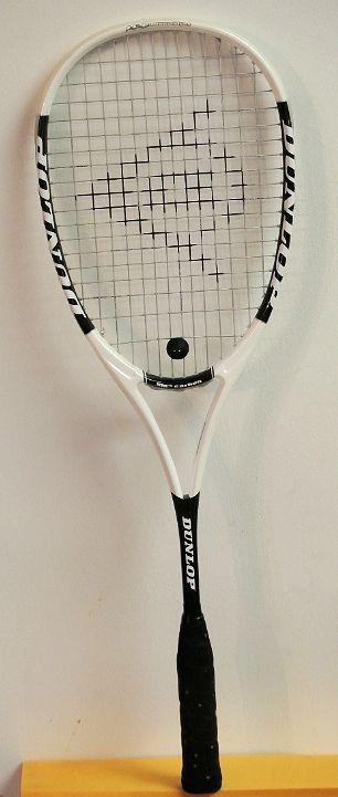 Dunlop I.C.E. Squash Racquet/Racket EXCELLENT SHAPE HM(TM) CARBON FREE SHIP