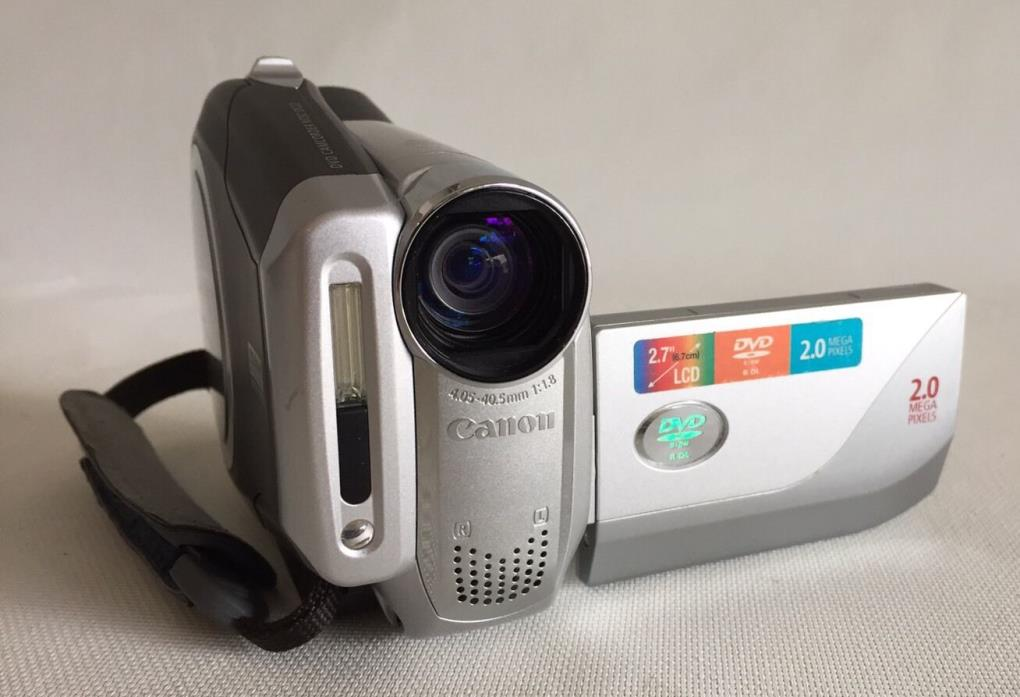Canon DC22 DVD Camcorder Video Camera 2.0MP 2.7