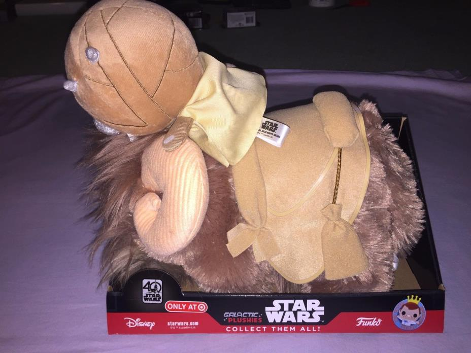 Star Wars 40 Galactic Plushies TUSKEN RAIDER & BANTHA 2 PACK PLUSH FUNKO **NEW**