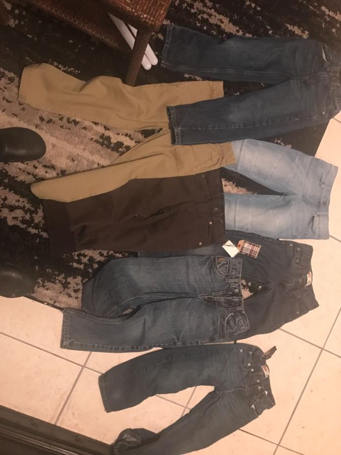 Boys Denim Jeans size 6 Lot some new w tags not worn out