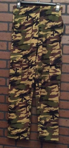 OT Sport Sleep Pants Multicolor Size Large Camouflage Polyester  Boy HH33