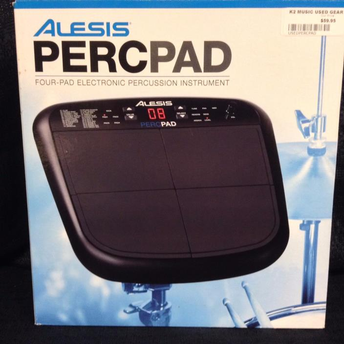 Alesis PERCPAD Electronic Drum Pad w/ 1/4