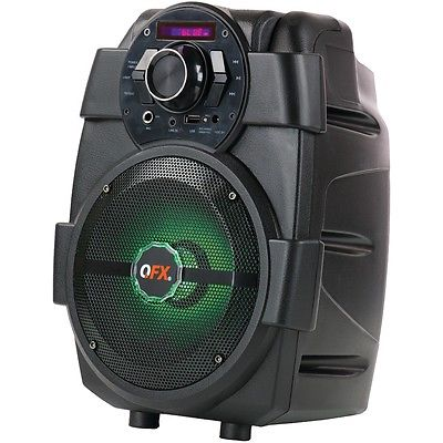 Qfx 1,500-watt Pbx-5 Rechargeable Bluetooth Party Speaker