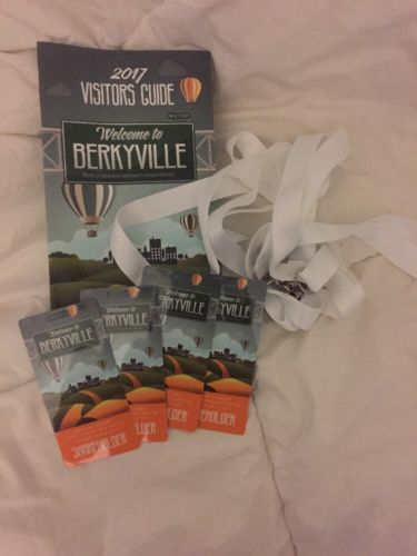 (4) 2017 BERKSHIRE HATHAWAY SHAREHOLDER MEETING CREDENTIALS + VISITORS GUIDE