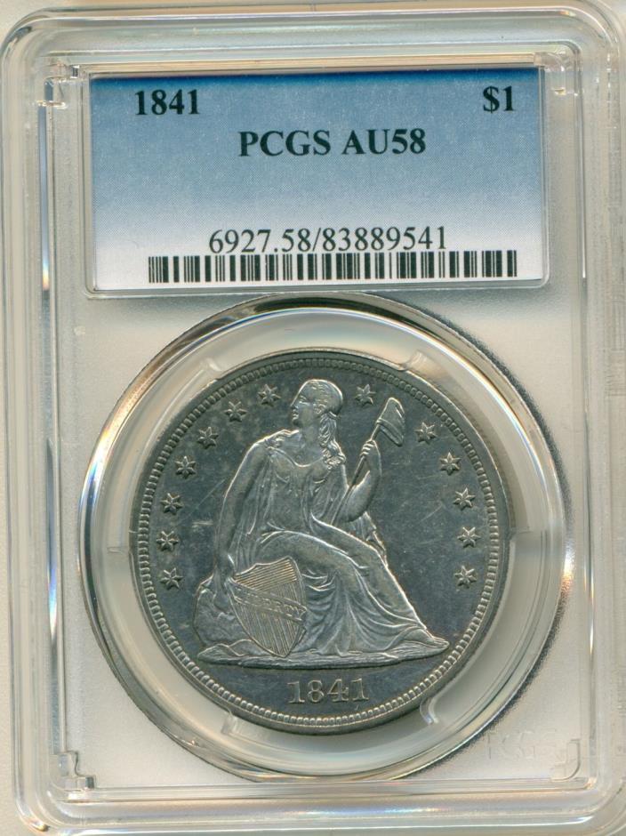 1841 PCGS AU58