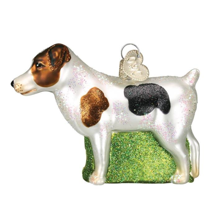 Jack Russel Terrier Old World Christmas Tree Ornament NWT - 12218