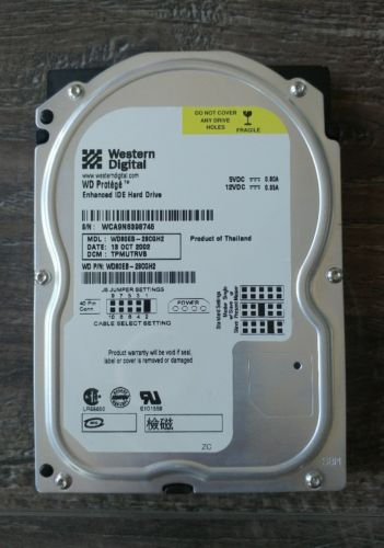 Original Xbox WD80EB - 28CGH2 Internal Hard Drive 8 GB