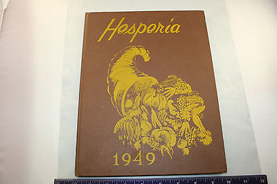 Hesperia 1949 North Bend Oregon High School Yearbook Cornucopia Bulldogs