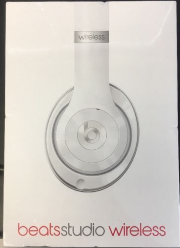 Beats by Dr. Dre Studio Wireless  Headset Brand New in Sealed Box Gloss White(CW