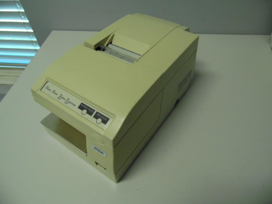 Epson TM-U375 M63UA Serial Dot Matrix POS Receipt Printer