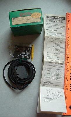 SunX RX-LS200 Photoelectric Sensor Sun X  NOS