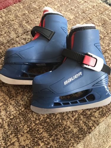 Bauer Toddler Boy Skates Size 6/7