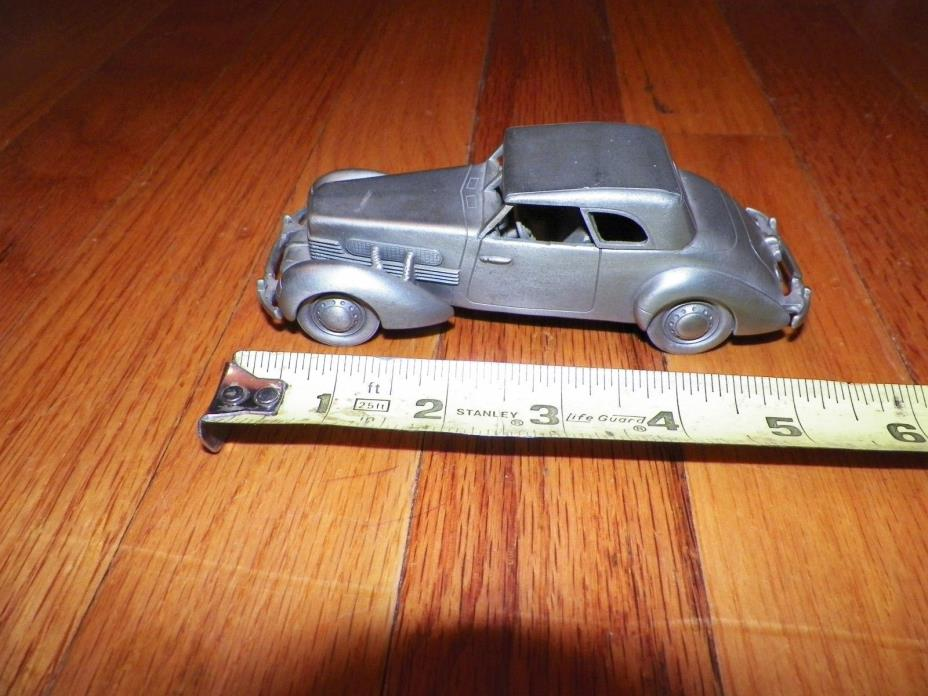 DANBURY MINT PEWTER CAR 1937 Cord 812 No Box or C of A