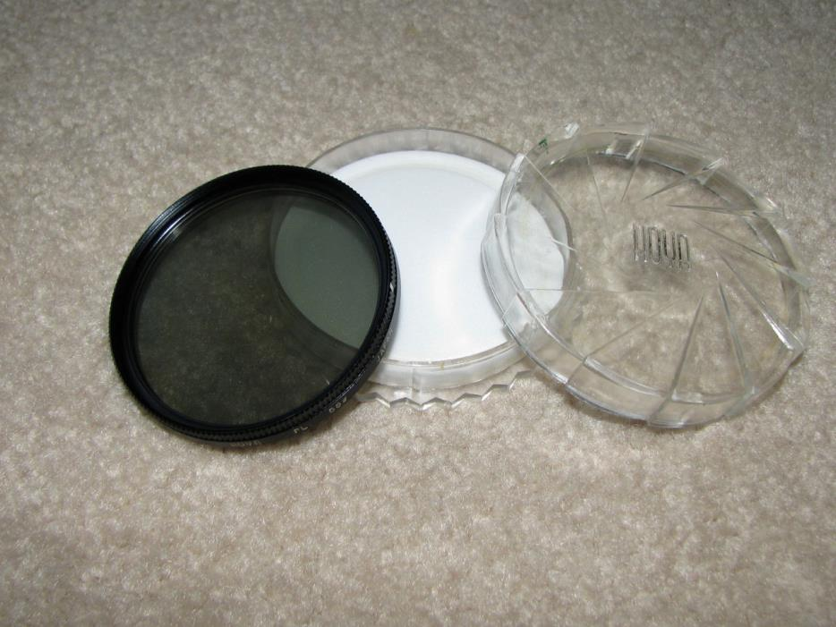 Hoya 55mm PL Camera Lens Filter with Case - Made in Japan