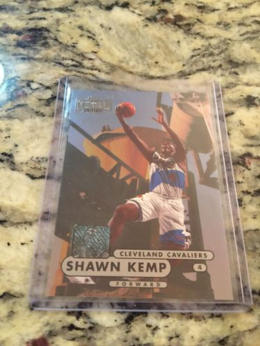 1997 Metal Universe #78 Shawn Kemp Cleveland Cavaliers Card