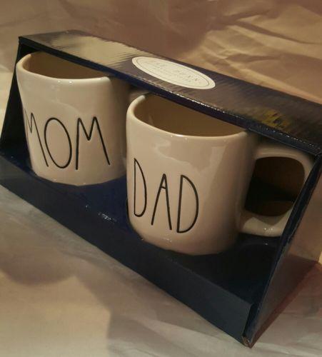 NEW - Rae Dunn Mug Set