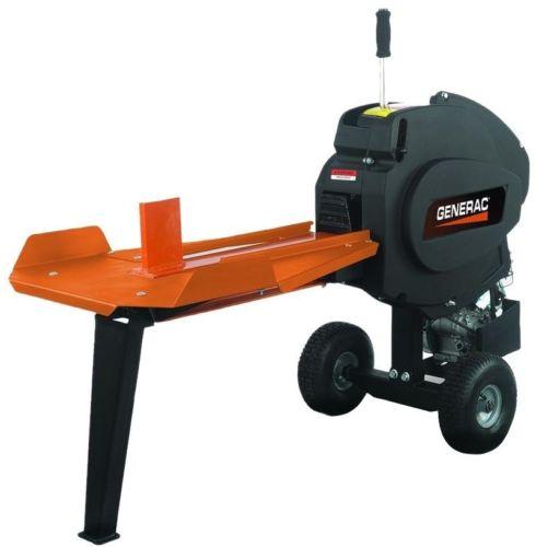 Gas Log Splitter Outdoor Power Tool Portable Equipment Wood Tree Fireplace 22 T