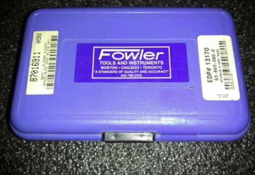 Fowler 53-680-050-0 Space-Blox Gage Block Set 36 Piece 0.00005