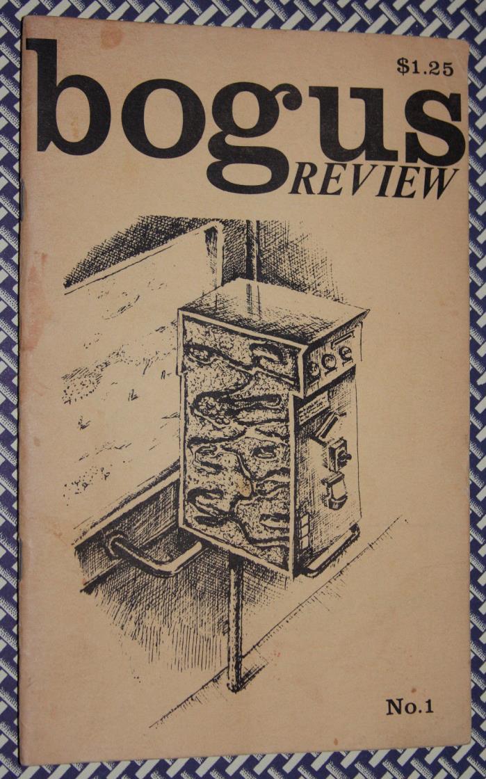 Rare 1983 Kirk McElhearn BOGUS REVIEW Zine NYC, The Bongos, Richard Behrens