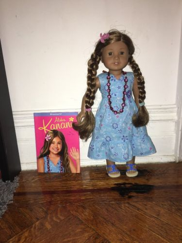 American Girl Doll Of The Year Kanani New With Book