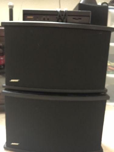 bose speaker seri 901 + equalizer