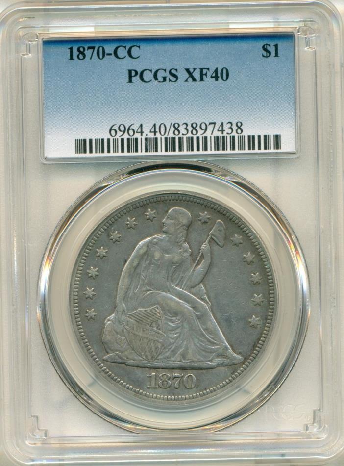 1870-CC PCGS XF40