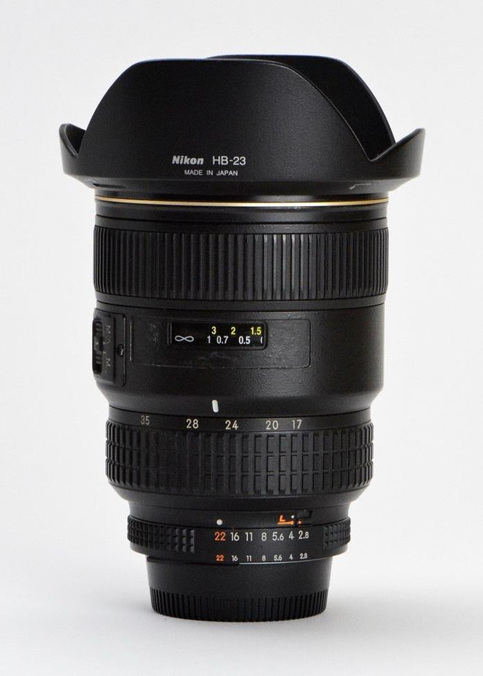 Nikon AF-S Zoom 17-35mm f/2.8D IF-ED Lens