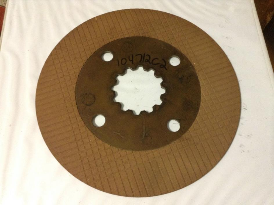 104712C2 - A New Original Brake Disc For A IH 786, 886, 986, 1086, 1486 Tractors