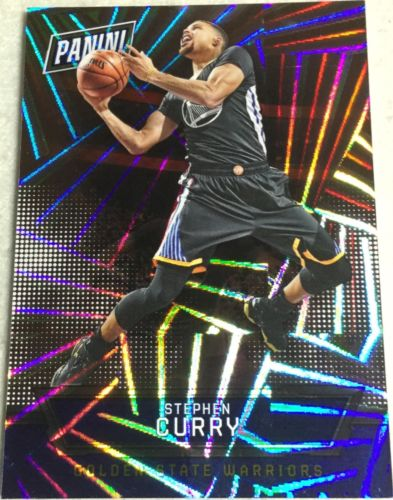 Stephen Steph Curry 80/99 2016 Panini National Silver Pack Hyper Foil #12 Thick