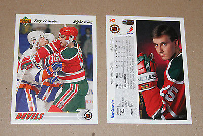 Upper Deck 1991-92 hockey cards