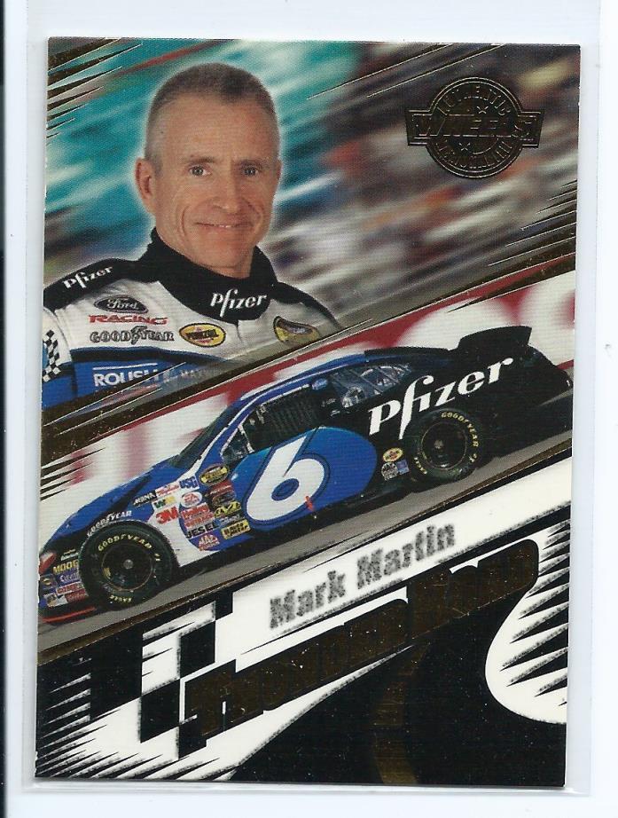 Mark martin 2004 Wheels American Thunder Thunder Road Card #3
