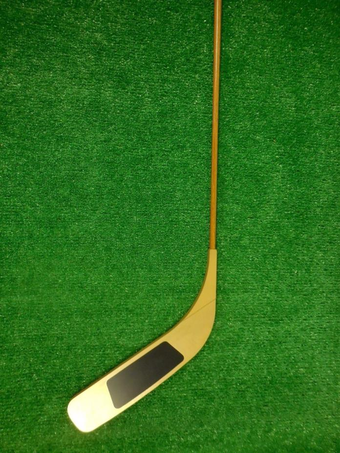 how to make a hockey stick putter