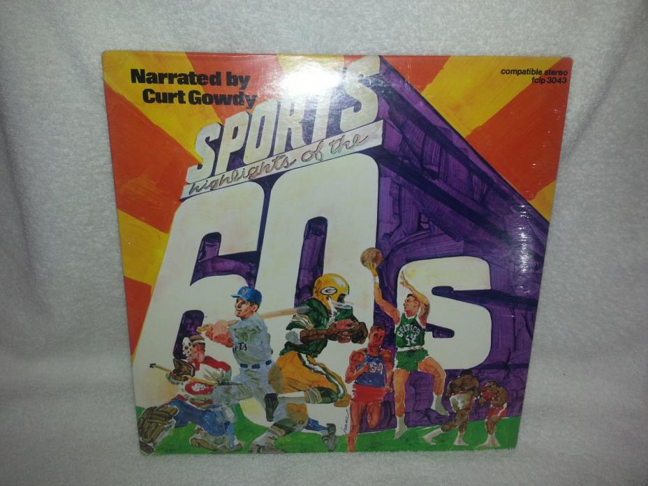 Sports Highlights of the 60s CD NEW Curt Gowdy