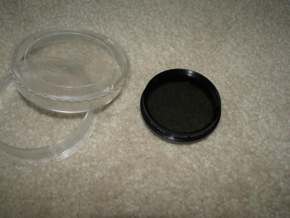 TIFFEN SR-49m - 49mm SR Polarizer Lens  - Made in USA