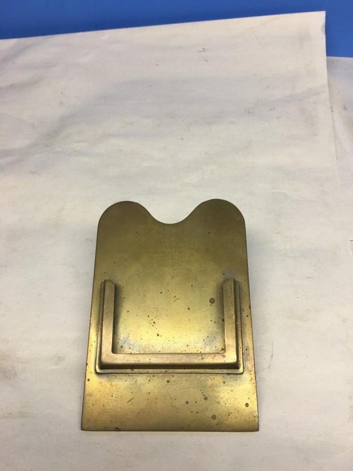Bradley & Hubbard  Brass  Document Clip