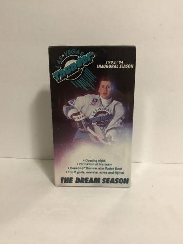 Vintage Las Vegas Thunder Pro Hockey VHS Inaugural Season Sealed New