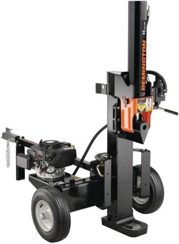 Gas Log Splitter Outdoor Power Tool Portable Equipment Wood Tree Fireplace 23 T
