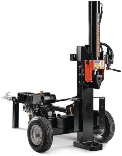 Gas Log Splitter Outdoor Power Tool Portable Equipment Wood Tree Fireplace 27 T