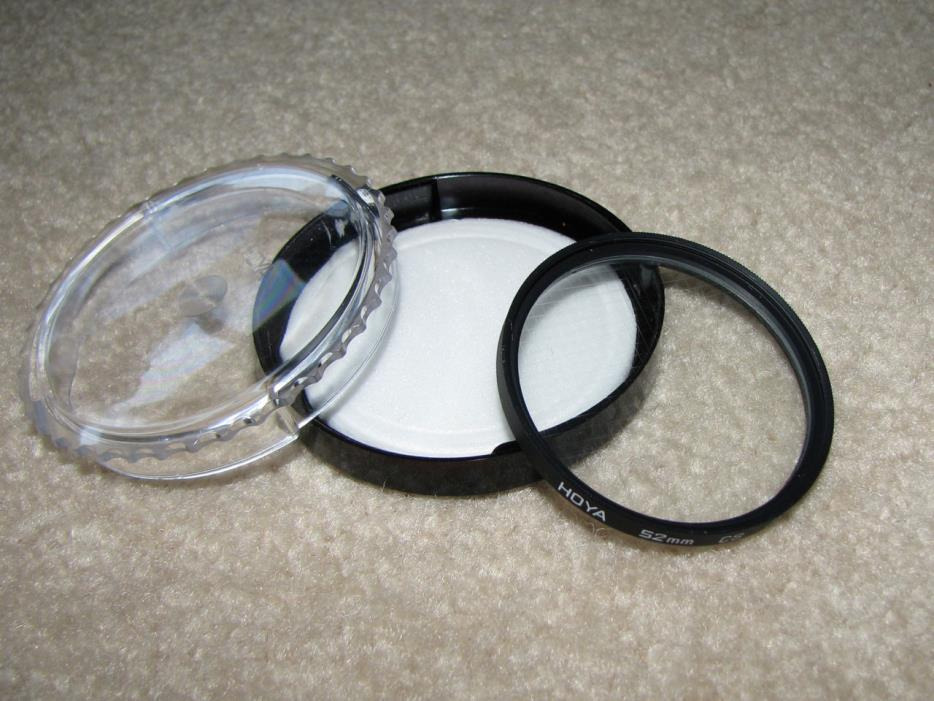 Hoya 52 mm CS (Cross Screen) Filter with Case - Made in Japan