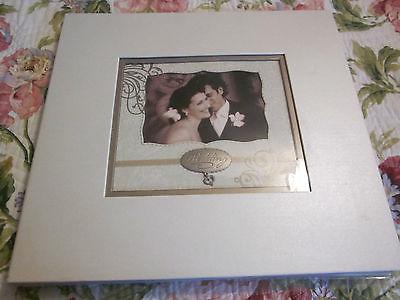 WEDDING 12 X 12 SCRAPBOOK ALBUM/20 PGS/STICKERS/LETTERS