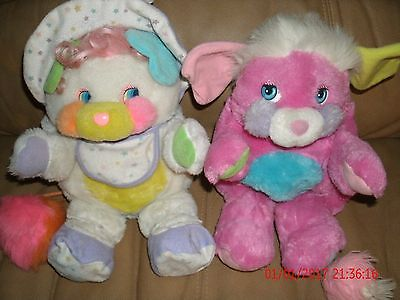 Popples Vintage Lot 1980's Plush 1980's