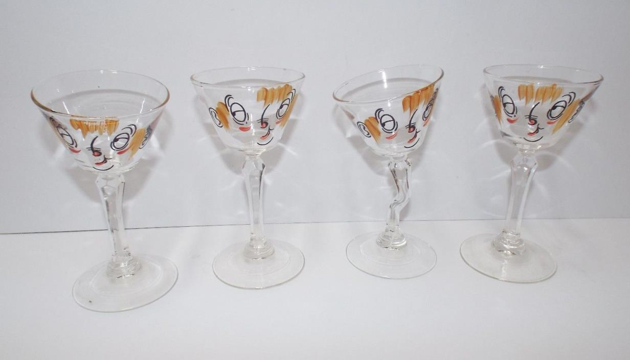 hand painted wine glasses for sale classifieds