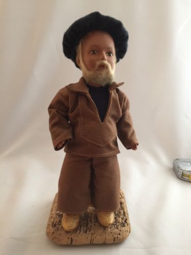 Sailor Fisherman Doll From Brittany France