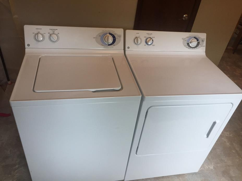 Ge Washer And Dryer Set For Sale Classifieds