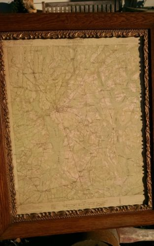 Walterboro, SC South Carolina 1918 Quad Map Rare Colleton County Charleston area